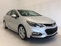 Options:  2016 Chevrolet Cruze Premier|Silver|*Premier
