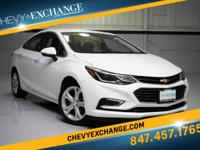 Options:  2016 Chevrolet Cruze Premier Auto|White|Jet
