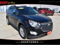 Black 2016 Chevrolet Equinox LT AWD 6-Speed Automatic