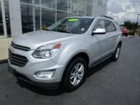 Recent Arrival! 2016 Chevrolet Equinox LT Silver Ice