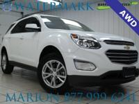 Equinox LT, AWD, Backup Camera, One-Owner, Local Trade,
