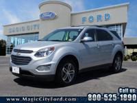 This 2016 Chevrolet Equinox LTZ is a real winner with
