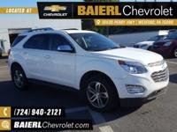 New Price! Certified. CARFAX One-Owner. 2016 Chevrolet
