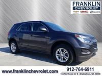 CARFAX One-Owner. Clean CARFAX. **FRANKLIN ADVANTAGE