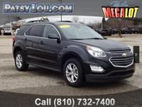 2016 Equinox LT!!! Clean CARFAX One Owner AVAILABLE