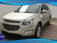 Introducing the 2016 Chevrolet Equinox! Offering an