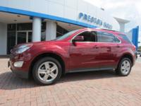 2016 Chevrolet Equinox LT FWD Red 6-Speed Automatic