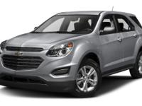 2016 Chevrolet Equinox LS AWD 6-Speed Automatic with