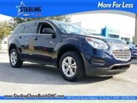 Recent Arrival! This 2016 Chevrolet Equinox LS in Blue