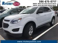 CERTIFIED PRE-OWNED 2016 CHEVY EQUINOX LS 2WD**CLEAN