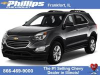 Charcoal 2016 Chevrolet Equinox LS FWD 6-Speed