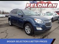 *2016 CHEVROLET EQUINOX LT*FWD 6-Speed Automatic with