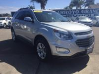 Options:  2016 Chevrolet Equinox Awd 4Dr Lt Used|Silver