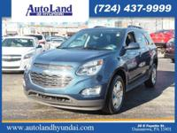 This 2016 Chevrolet Equinox LT features a braking