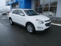 The 2016 Chevrolet Equinox has a refreshed nose and
