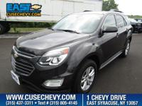 Come see this 2016 Chevrolet Equinox LT. Its Automatic
