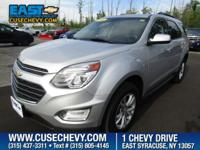 Look at this 2016 Chevrolet Equinox LT. Its Automatic