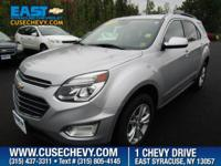 Check out this 2016 Chevrolet Equinox LT. Its Automatic