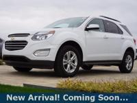 2016 Chevrolet Equinox LT in Summit White, AWD, This