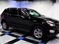 2016 Chevrolet Equinox LT In Black. AWD. So roomy, it's