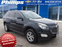 2016 Chevrolet Equinox LT Blue Velvet Metallic 3-DAY