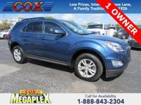 New Price! Certified. This 2016 Chevrolet Equinox LT in