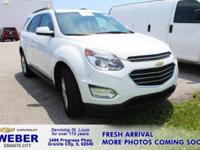 Recent Arrival! Summit White Chevrolet Equinox