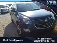 Patriot Blue Metallic 2016 Chevrolet Equinox LT 2.4L