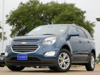 2016 Chevrolet Equinox Patriot Blue Metallic 6-Speed