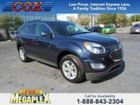 This 2016 Chevrolet Equinox LT in Blue is well equipped