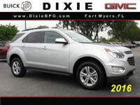 Options:  2016 Chevrolet Equinox Lt|Lt 4Dr Suv|2.4L|4