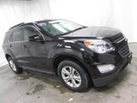 2016 Chevrolet Equinox LT in Black... Your lucky day!