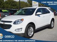 2016 Chevrolet Equinox, GM Certified, 100K Warranty,