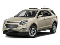 Options:  2016 Chevrolet Equinox Lt|Black/|V4 2.4