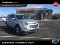 2016 Chevrolet Equinox LT in Silver Ice vehicle