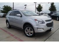 Introducing the 2016 Chevrolet Equinox! Feature-packed