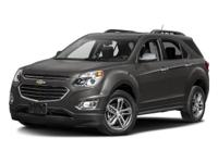 2016 Chevrolet Equinox LTZ LEATHER, One Owner!,