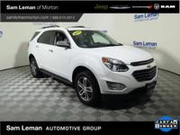 2016 Chevrolet Equinox LTZ in Summit White vehicle