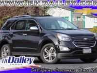 Options:  2016 Chevrolet Equinox Ltz|Black|3.23 Axle