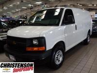 2016+Chevrolet+Express+Van+G2500HD+Work+Van+In+White+GM
