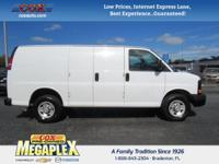 Just Reduced! Certified. This 2016 Chevrolet Express