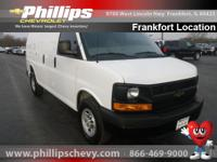 Move quickly! At Phillips Chevrolet Frankfort, YOU'RE