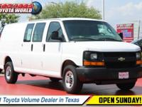 Carfax One-Owner Vehicle. This Chevrolet Express Cargo