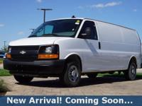 2016 Chevrolet Express 2500 Work Van in Summit White,