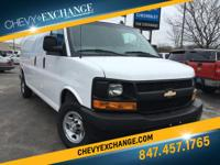 Options:  2016 Chevrolet Express 2500 Work Van|Summit