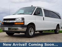 2016 Chevrolet Express 3500 LT in Summit White, This