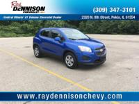 Blue 2016 Chevrolet Trax LS FWD 6-Speed Automatic
