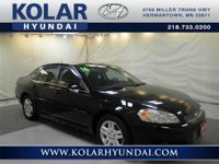 Impala Limited LT. Low miles indicate the vehicle is