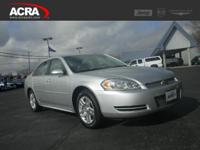 Used Chevrolet Impala Limited, options include: an