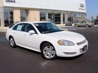 Options:  2016 Chevrolet Impala Limited Lt|White|6